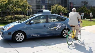 """Les """"Google car"""" se sont retrouvés impliqués dans onze accidents"""