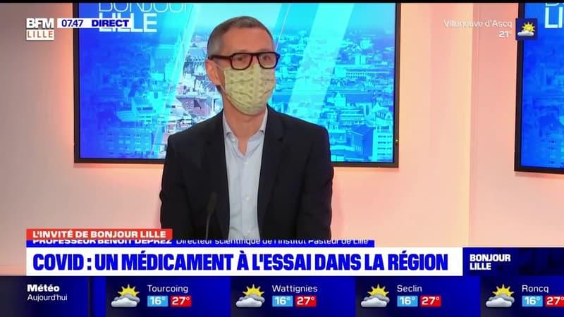 """Médicament contre le Covid-19: le Pr Benoît Deprez, directeur scientifique à l'Institut Pasteur de Lille, affirme que le traitement est efficace sur les variants """"in vitro"""""""