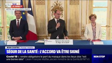 """Jean Castex: """"Signer les accords dits du Ségur de la santé va être un moment très important"""""""