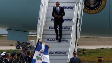 Barack Obama est arrivé en Grèce ce mardi matin, pour son dernier voyage officiel en tant que président des Etats-Unis.