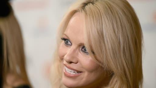 Pamela Anderson le 11 septembre 2015 à Toronto