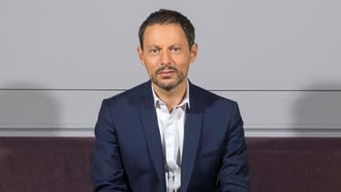 Le journaliste Marc-Olivier Fogiel