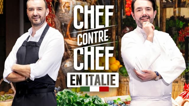 Cyril Lignac et Jean-François Piège dans la nouvelle émission de M6, Chef contre chef.