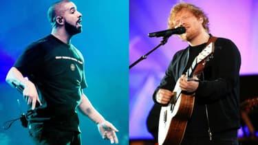 Drake a battu le record jusqu'ici détenu par Ed Sheeran
