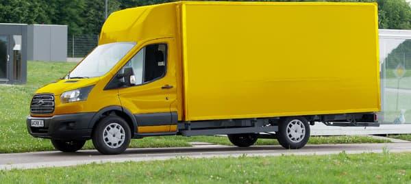 Le futur grand utilitaire de la poste allemande sera basé sur un Ford Transit.
