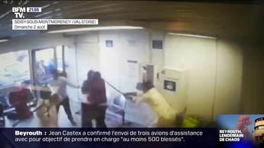 Agression dans une laverie du Val-d'Oise: trois personnes placées en garde à vue