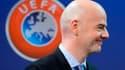 Gianni Infantino à l'époque où il travaillait pour l'UEFA
