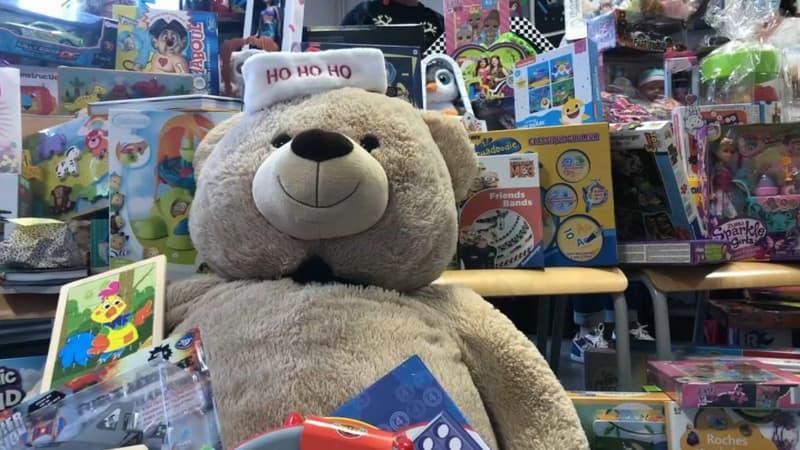 Roubaix: 150 jouets offerts aux enfants malades pour Noël