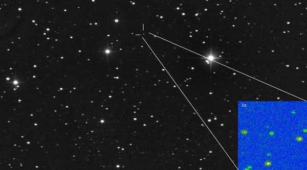 La comète Ison.