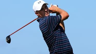 Jordan Spieth s'est habitué à devoir répondre à des questions sur Tiger Woods tout au long de sa carrière.
