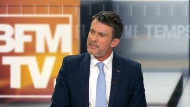 Manuel Valls dimanche soir sur BFMTV.