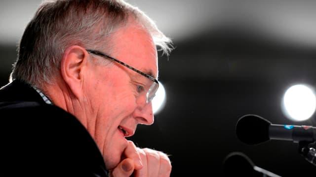 Patrick McQuaid, président de l'UCI