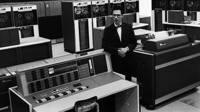 Fernando Corbato, l'inventeur du premier mot de passe numérique.
