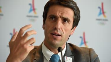 Le patron du comité d'organisation de Paris 2024 Tony Estanguet veut apaiser les tensions nées de l'annonce de l'arrivée d'Airbnb en tant que sponsor du Comité International Olympique