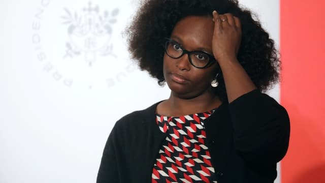Sibeth Ndiaye à l'Élysée le 30 avril 2019