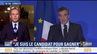 """François de Rugy: """"Je ne vois pas en quoi cette conférence de presse aurait rétabli la confiance dans la parole de François Fillon"""""""