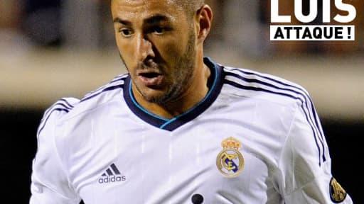 Karim Benzema, star très discrète du Real