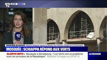 """Marlène Schiappa sur la mosquée à Strasbourg: """"Mon mot d'ordre c'est: 'pas un euro d'argent public pour les ennemis de la République'"""""""