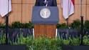 Dans la veine de son discours fondateur du Caire, Barack Obama a profité mercredi de son séjour en Indonésie, premier Etat musulman de la planète, pour affirmer lors d'un discours devant des milliers de personnes à Djakarta que l'Amérique n'est pas et ne