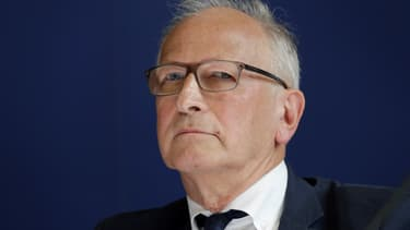 Le professeur d'immunologie pédiatrique Alain Fischer, le 5 juillet 2017 à Paris.