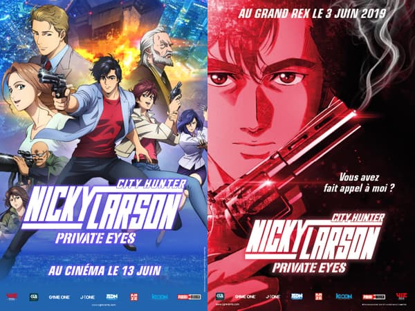 Affiches de Nicky Larson : Private Eyes