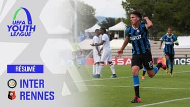 Résumé : Rennes 0-1 Inter (Q) - Huitièmes de finale Youth League