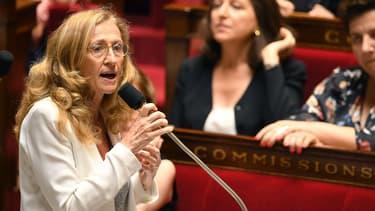 Nicole Belloubet le 3 juillet 2018 à l'Assemblée.