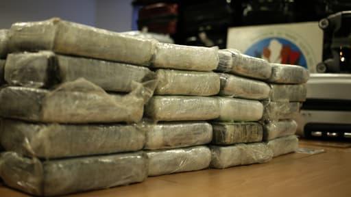 Plus de 50 kilos de cocaïne qui se trouvaient sous scellé au siège de la PJ parisienne ont disparu jeudi dernier (photo d'illustration).