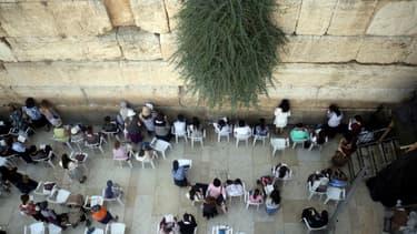 Le Mur des Lamentations à Jérusalem