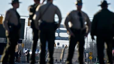 Des policiers de l'état américain de l'Alabama. (Photo d'illustration)