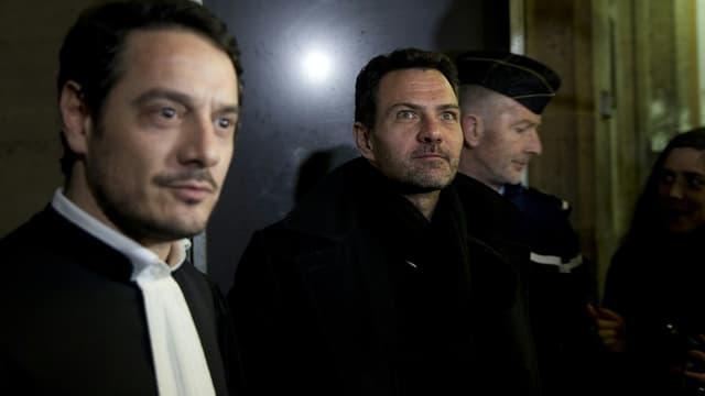 David Koubbi (à gauche) et Jérôme Kerviel.
