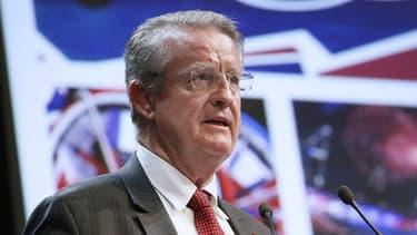 Bernard Lapasset, coprésident du comité de candidature Paris 2024