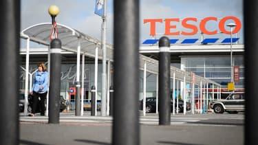 Le groupe Tesco est confronté à une baisse de ses ventes.