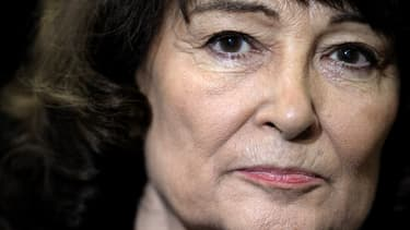 La philosophe Sylviane Agacinski à Reims, le 8 mars 2012.