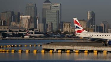 L'aéroport de Londres-City en octobre 2017