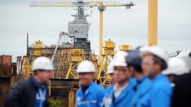 Les chantiers naval de STX sont visitables.