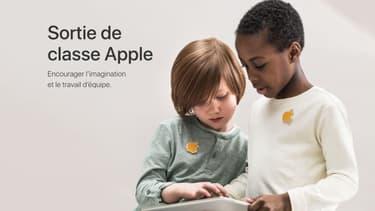 Apple organise des visites scolaires dans ses magasins
