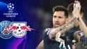 PSG - Leipzig : le grand pont génial de Messi sur Klostermann