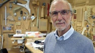 L'architecte italien Renzo Piano dans son atelier en mai 2015.