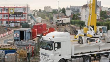 D'ici à 2030, les chantiers de construction du Grand Paris Express  représenteront une hausse de 10 à 20 % de la quantité de déblais générée chaque année en Ile-de-France.