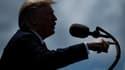 """Les droits de douane pourraient passer à 10% au 1er juillet et grimper de 5 points chaque mois jusqu'à la limite de 25% en octobre si le Mexique """"n'arrête pas considérablement le flux d'étrangers illégaux passant par son territoire"""", menace Donald Trump"""