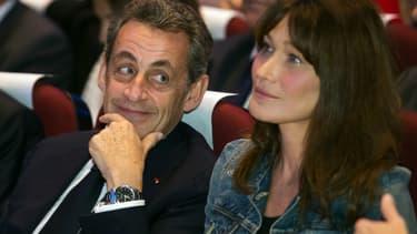 Carla Bruni Sarkozy Devoile Une Photo De Nicolas Sarkozy En Compagnie De Leur Fille Giulia
