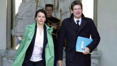 Cécile Duflot et Pascal Canfin