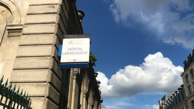 L'unique salle de consommation à moindre risque à Paris se trouve à l'hôpital Lariboisière.