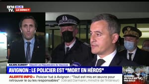 """Julien Aubert: """"Les policiers ont besoin de notre soutien et que la justice soit plus réactive"""""""