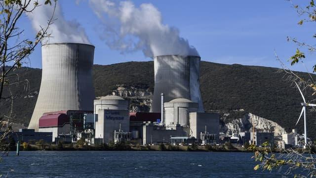 La centrale nucléaire Cruas-Meysse en octobre 2017