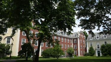 Le campus de l'université Harvard, à Cambridge dans le Massachusetts, le 08 juillet 2020