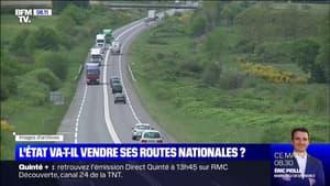 L'État va-t-il privatiser ses routes nationales?