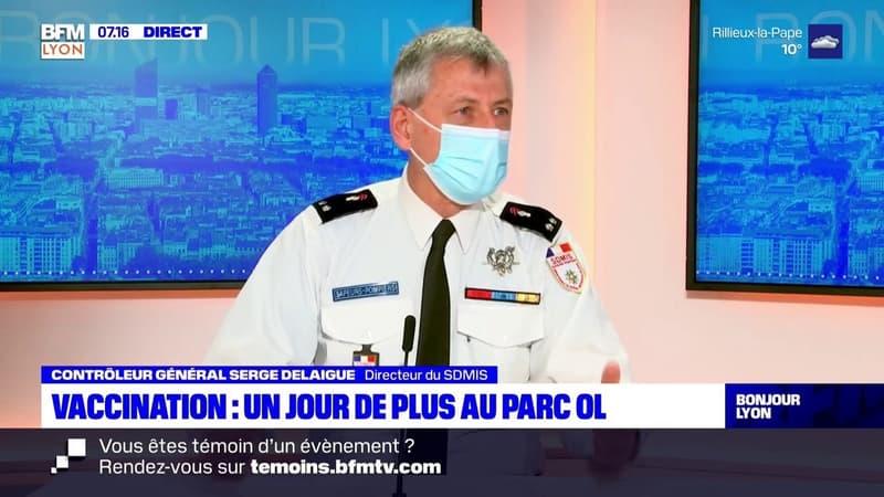Vaccination au Parc OL: Serge Delaigue, directeur du SDMIS, évoque une possible pérennisation du centre