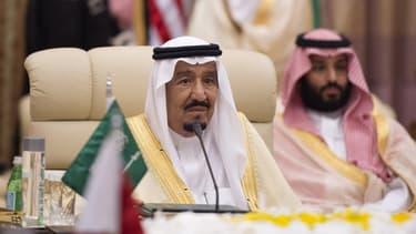 Le roi d'Arabie saoudite, Salman.